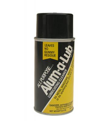 image shows can of vinyl window lube cleaner