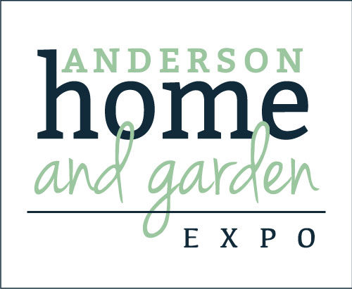image shows logo for Anderson, SC Home & Garden Show where Porch Conversion of Seneca will be exhibiting its sunroom and porch conversion capabilities.